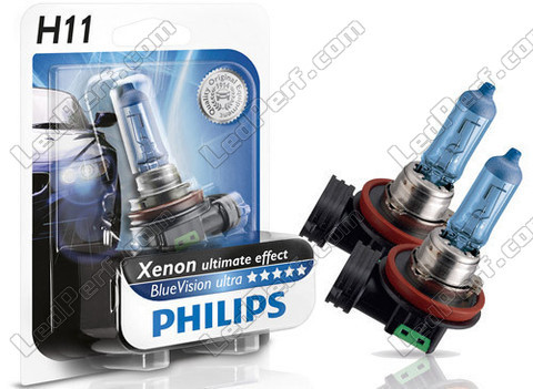 Lampadine Philips H11 White Vision - Ultimate Xenon Effetto
