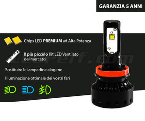 Lampadina a LED H8 Moto Scooter Quad