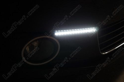 REFURBISHHOUSE New Potenza Ultra-Sottile 2 Pezzi Drl Leader Drl Luci di Marcia Diurne Fari Mobili da Corsa Luci Un LED con Segnali di Svolta Freno 30Cm