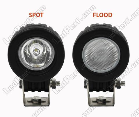 Fasci luminosi Spot VS Flood Suzuki Burgman 650 (2013 - 2020)