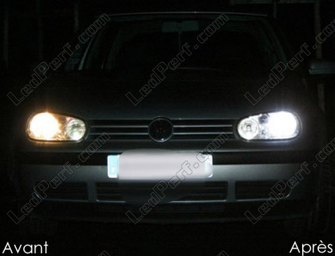 LED Anabbaglianti Volkswagen Golf 4