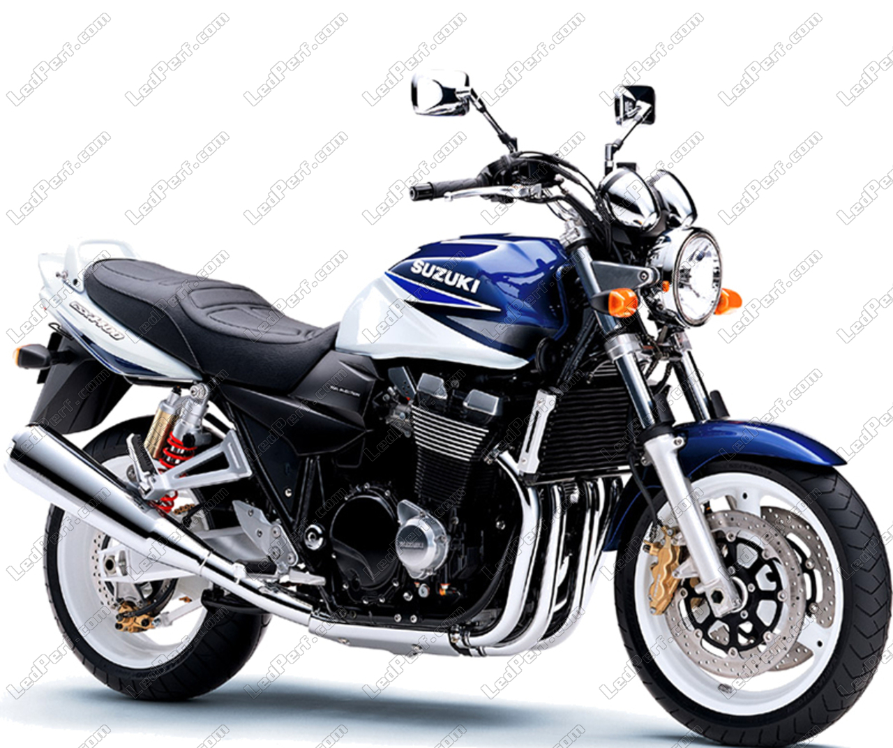 Faro per motocicletta H4 7 pollici Faro per motocicletta con portalampada e staffe per faro adatti per modelli FXWG FXDWG FXST con faro a LED da 7 Lamp Housing