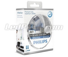 Kit da 2 lampadine H1 Philips WhiteVision (Novità!)