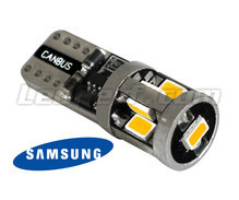 Lampadina a LED T10 W5W Origin 360 - 9 led Samsung - Anti errore OBD