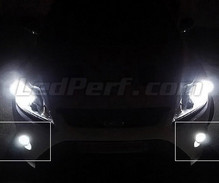 Kit luci fendinebbia a LED (bianca Xenon) per Ford Focus MK2
