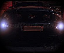 Kit luci di posizione a led (bianca Xenon) per Ford Mustang