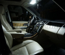 Kit da interni lusso Full LED (bianca puro) per Range Rover L322 Vogue & HSE