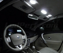 Kit interni lusso Full LED (bianca puro) per Renault Fluence