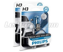 Kit da 2 lampadine H3 Philips WhiteVision (Novità!)