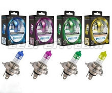 Kit di 2 lampadine H4 Philips ColorVision