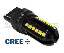 Lampadina W21W a LED T20 Ultimate Ultra Potente - 24 led CREE - Anti errore OBD