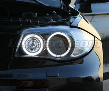 Kit angel eyes a led (bianca puro) per BMW Serie 1 fase 2 - MTEC V3.0