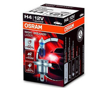 Lampadina H4 Osram Night Breaker Laser +130%