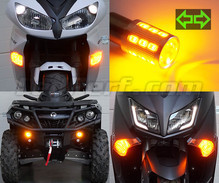 Kit luci di direzione LED per Honda CB 250 Two Fifty