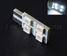 LED T10 Rotation a  4 led HP - Illuminazione laterale - bianca W5W