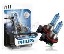 Kit di 2 lampadine H11 White Vision Philips